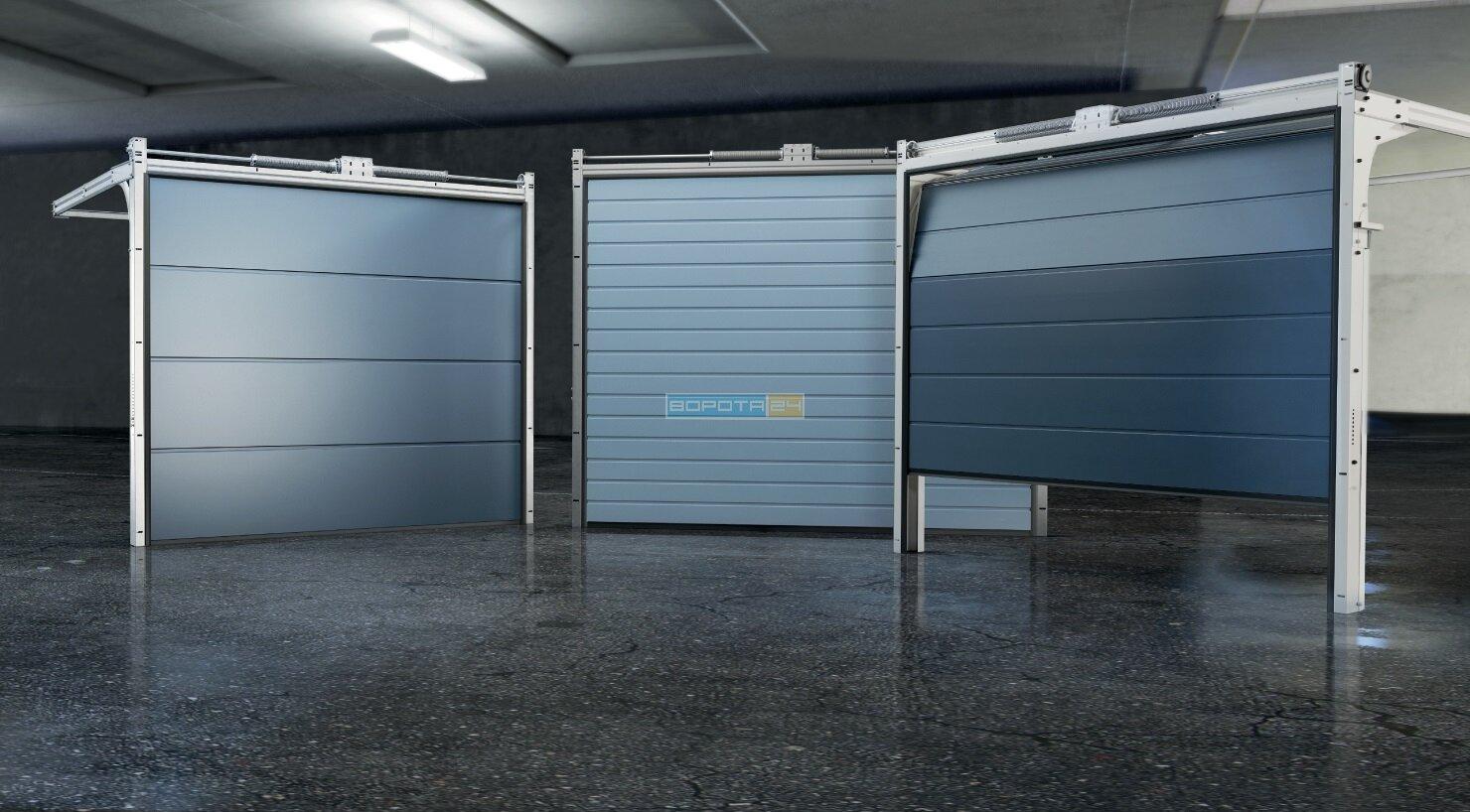 Выбрать дизайн сэндвич панели - гаражные роллетные системы Алютех
