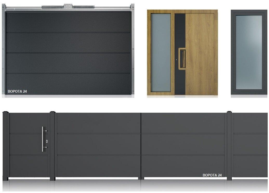 Двери, заборы и ворота от производителя WISNIOWSKI