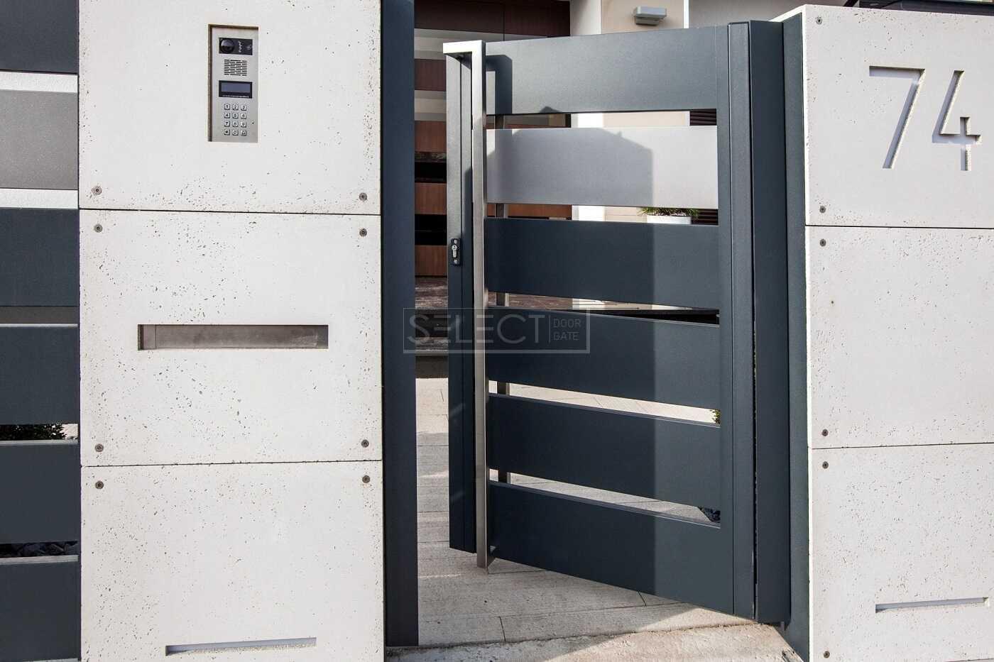 Select Plus Line - красивые калитки и заборы - современный стиль ограждения для частного дома
