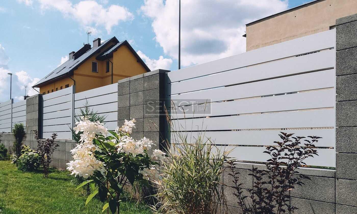 Решетчатые заборные секции из стали - оцинкованные металлические ограждения - Киев