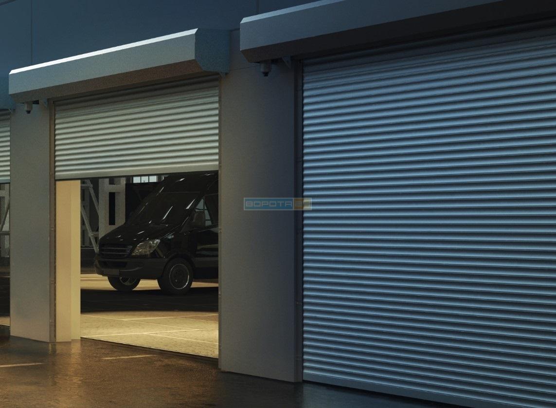 Роллеты в гараж алюминиевые Дорхан, Алютех - купить по цене от 8900 грн
