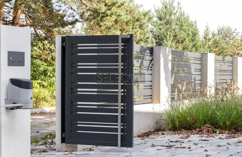секции стальные на забор - монтаж ограждения металлического в дом