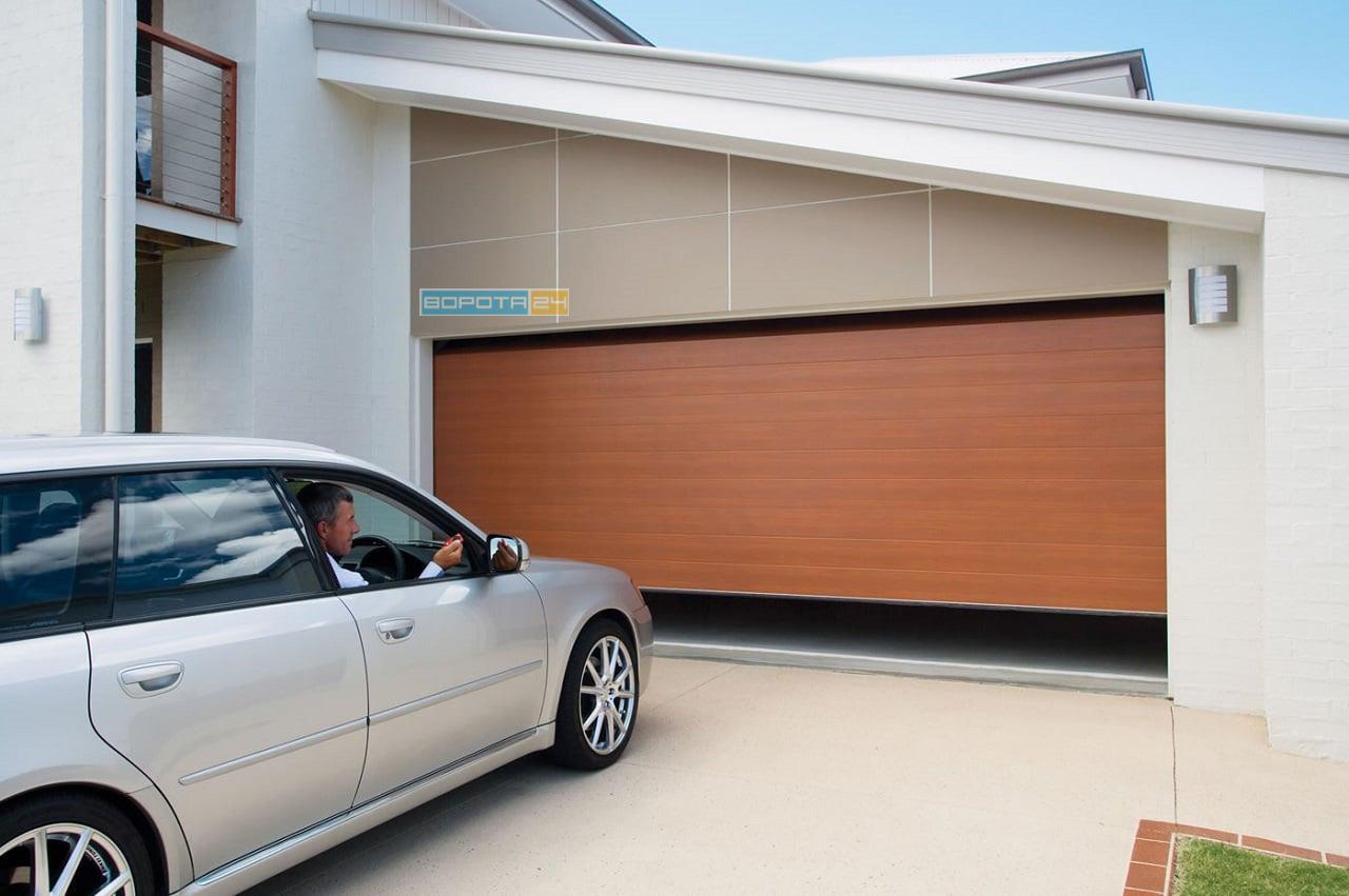 подъемные гаражные ворота с установкой - днепр