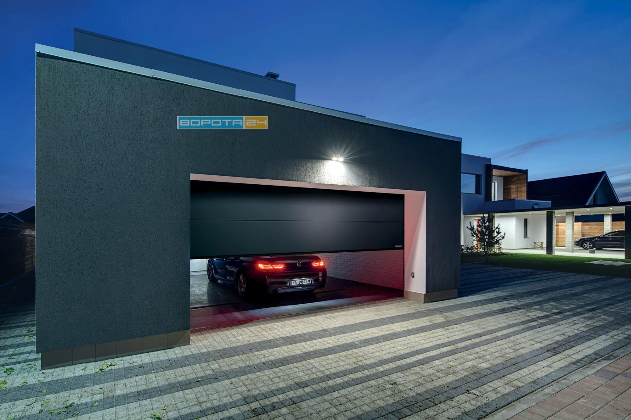 эксклюзивные гаражные ворота - изготовление под заказ - киев