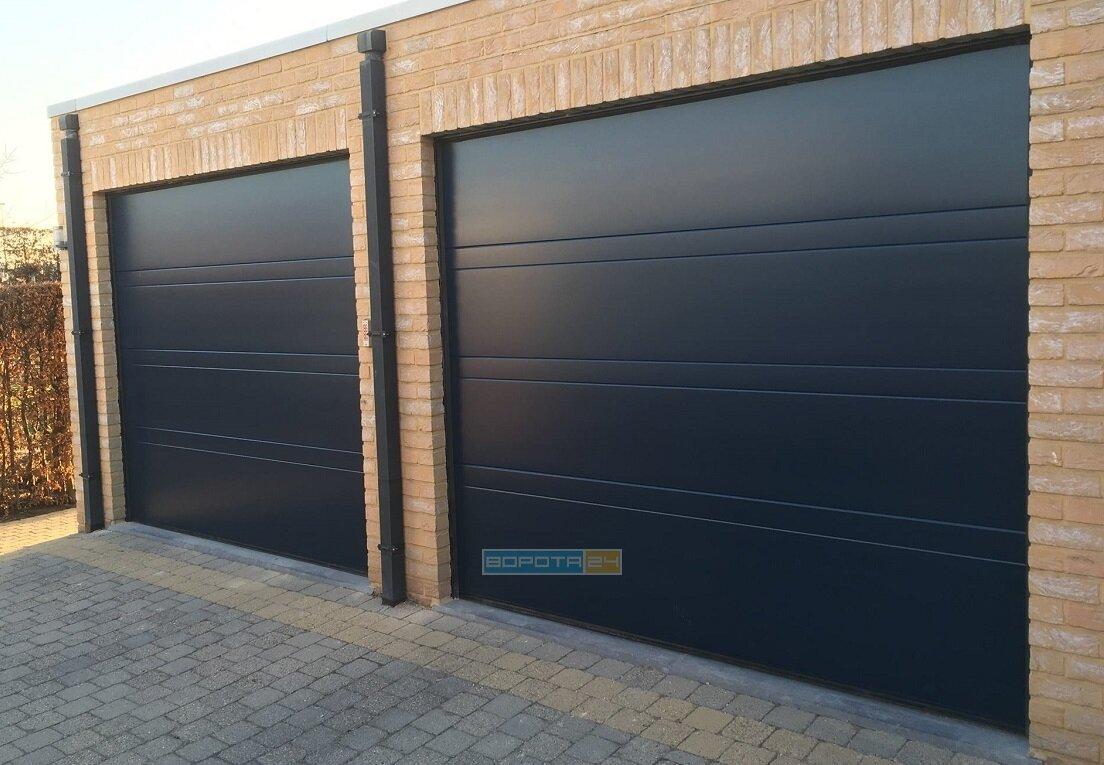 Купить ворота для гаража Ритерна - секционные и роллетные автоматические системы