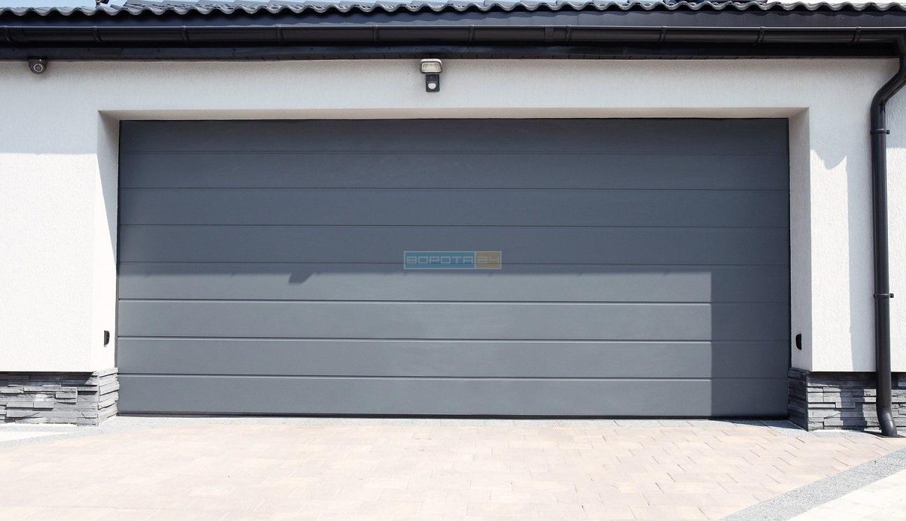 сучасні ворота на гараж ролетні гаражні ворота