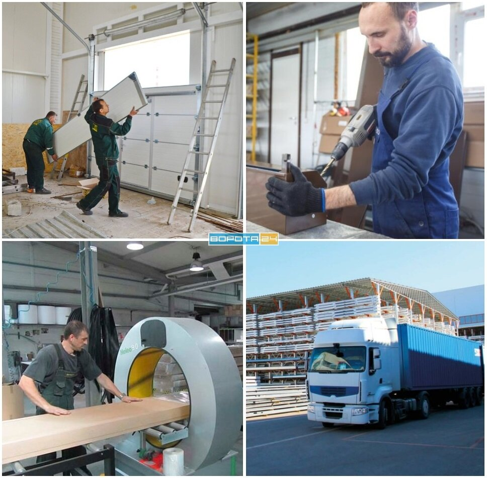 Завод производитель - Компания ВОРОТА 24 - Изготовление и Установка